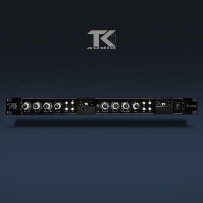New TK Audio T-Komp Dual Mono Rackmount Compressor TKOMPR