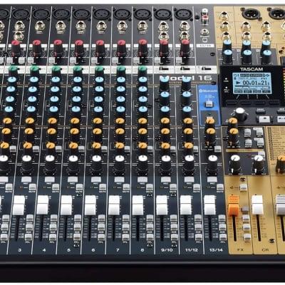 TASCAM Model 16 Multitrack Recorder / Mixer / Audio Interface
