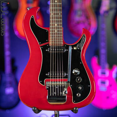 1960s Teisco Domino Red Electric Guitar MIJ for sale