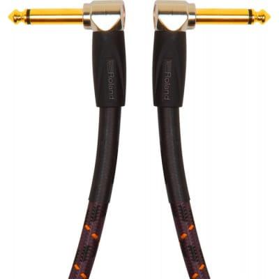 ROLAND RICGPC doppio jack angolato 15cm GOLD for sale