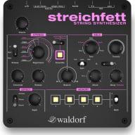 Waldorf Streichfett Synthesizer Synth Desktop String Modeling Keyboard Module