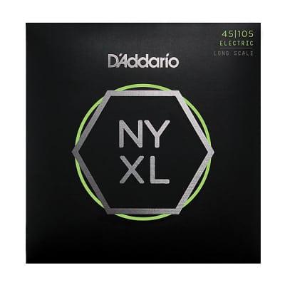 D'Addario NYXL45105 Bass String Set, 45-105