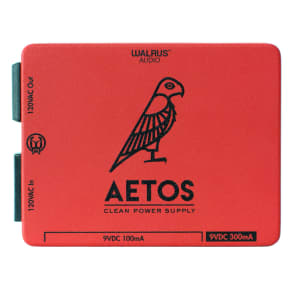 Walrus Audio Aetos 8 Output Power Supply, Red (Gear Hero Exclusive) for sale