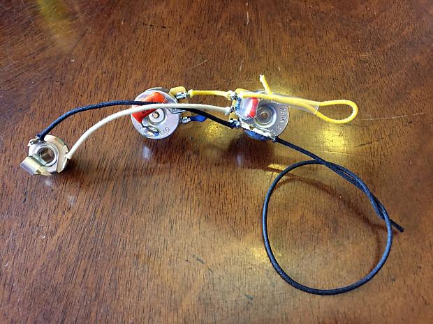[TBQL_4184]  Prewired Precision Bass Wiring Harness - USA Parts - CTS,   Reverb   Bass Wiring Harness      Reverb