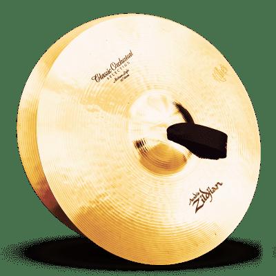 "Zildjian 16"" A Classic Orchestral Selection Medium Light Cymbals (Pair)"
