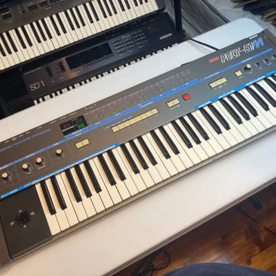 Korg Poly-61M with Tubbutec ModyPoly upgrade and fancy aftermarket end cheeks