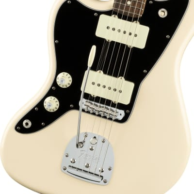 Fender American Pro Left-Handed Jazzmaster Rosewood Fingerboard Olympic White for sale