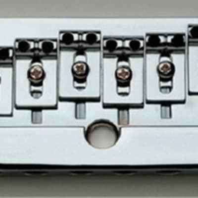 Danelectro Intonatable Bridge For U3 - CHROME