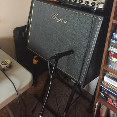Bugera 2 x 12 modified cabinet (includes Celestion Creamback speakers) unsure black for sale
