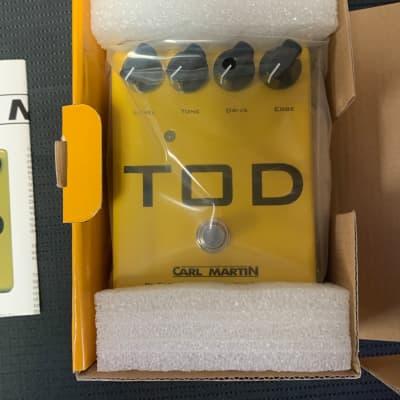 New Carl Martin TOD - High Gain Overdrive Guitar Effects FX Pedal