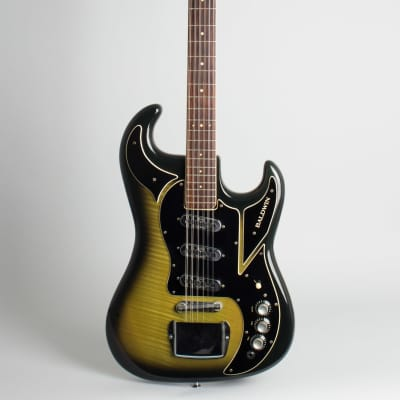 Baldwin - Burns  Double Six 12 String Solid Body Electric Guitar (1966), ser. #14827, original black hard shell case. for sale