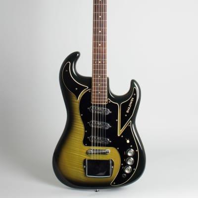 Baldwin - Burns  Double Six 12 String Solid Body Electric Guitar (1966), ser. #14827, original black hard shell case. for sale