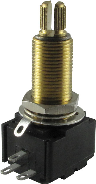 Potentiometer - Bourns, Linear, Knurled Shaft, Conductive Polymer,  Resistance: 300 kOhm