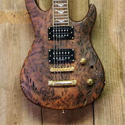 Samick Artist Custom Petrified Driftwood Guitar for sale