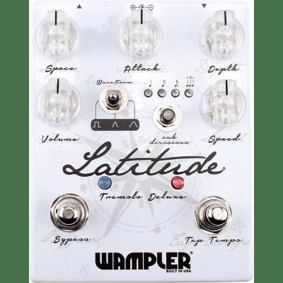 Wampler Latitude Deluxe Tremolo Distortion