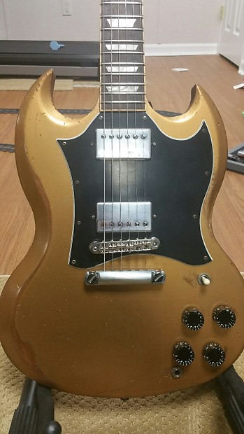 Gibson SG Standard Gold Top | Anthony's Guitars