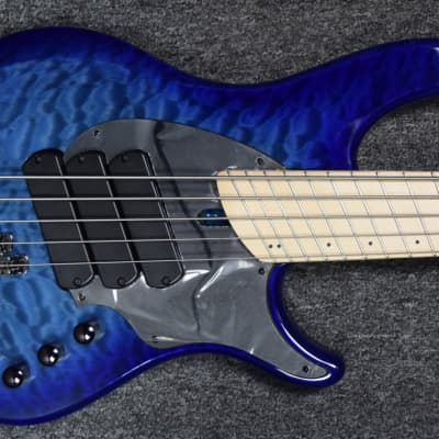 Dingwall Combustion 3 (5-String), Indigo Burst with Maple *On Order ETA=November 2020 for sale