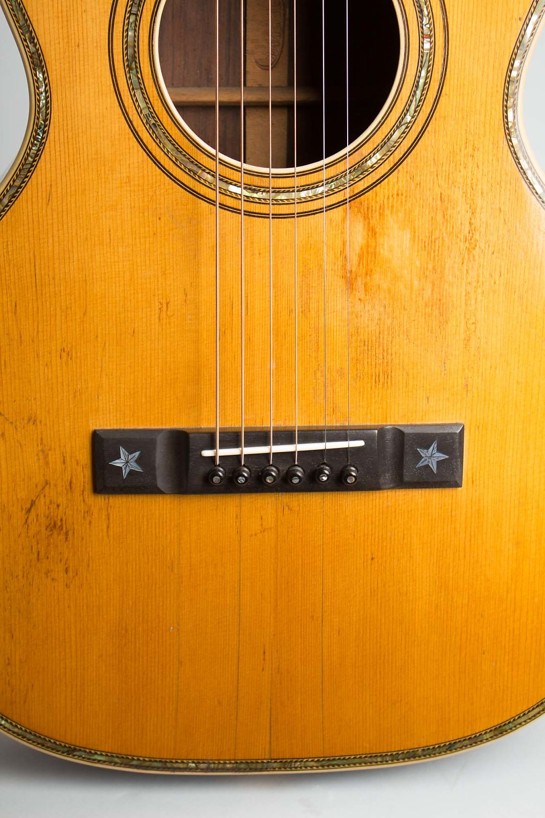 Stahl Artist Special Style 9 Flat Top Acoustic Guitar Made By