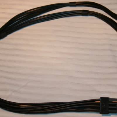 PCI Express Cable Black  For the  Mac Tower Graphics card 6 pin to 8pin  Black