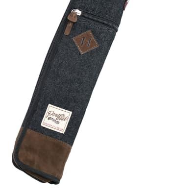 Tama TSB12DBK Powerpad® Designer Collection Drum Stick Bag, Black Denim