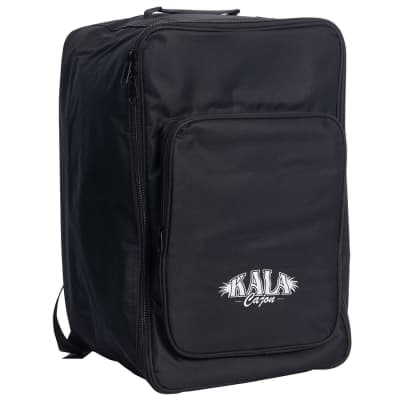 Kala Percussion Cajon Gig Bag - Black w/ White Logo