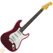 Squier Vintage Modified Stratocaster Surf 2010s Candy Apple Red image