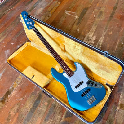 Fender 62 jazz bass reissue JB-62 Ocean turquoise DuPont original vintage cij mij crafted in japan for sale