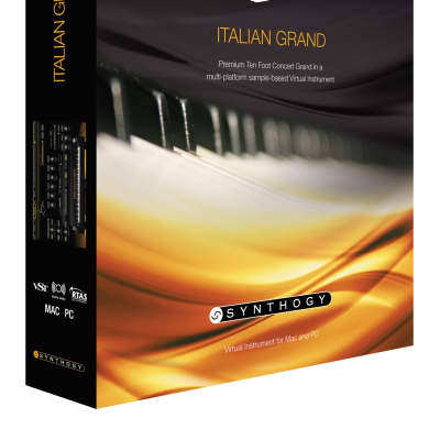 New Synthogy Ivory II Ivory II Italian Grand Piano Software Mac & PC Boxed