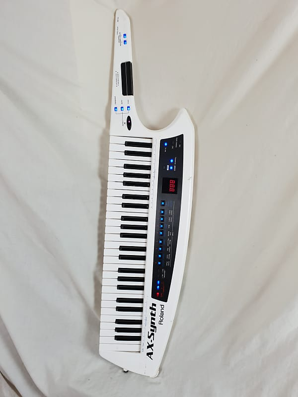roland ax synth keytar shoulder synthesizer midi controller reverb. Black Bedroom Furniture Sets. Home Design Ideas