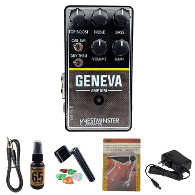 New Westminster Effects Geneva Amp Sim V2 Effects Pedal - with Free Stuff!