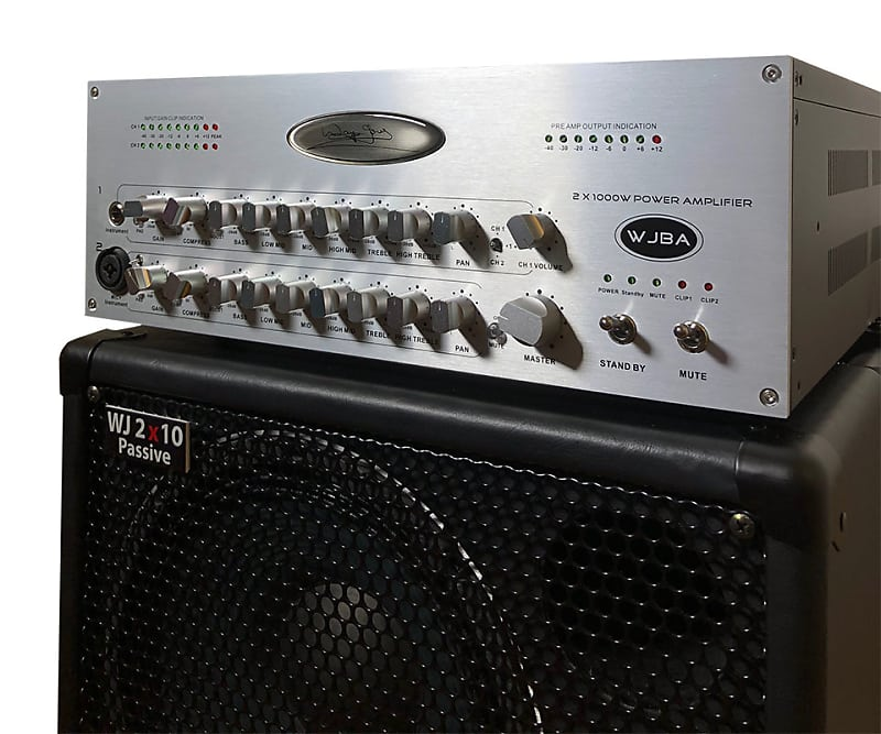 Wayne Jones Audio WJBA 2000 Bass Amplifier | Bass Workshop