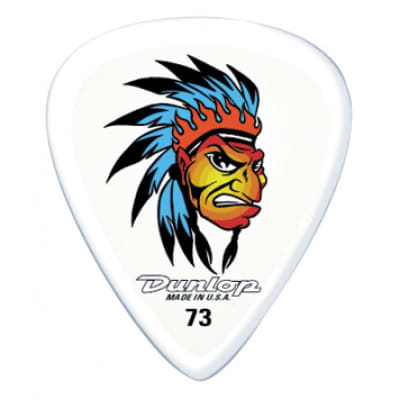 Dunlop BL04R060 Alan Forbes Chief .60mm Guitar Picks (36-Pack)