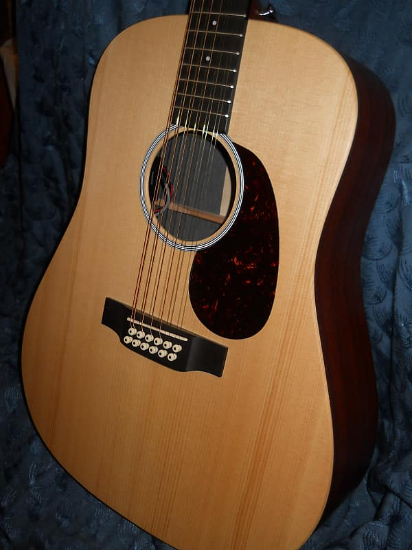 Martin 12 String D12x1ae Acoustic Electric Guitar Strong Packing Musical Instruments & Gear