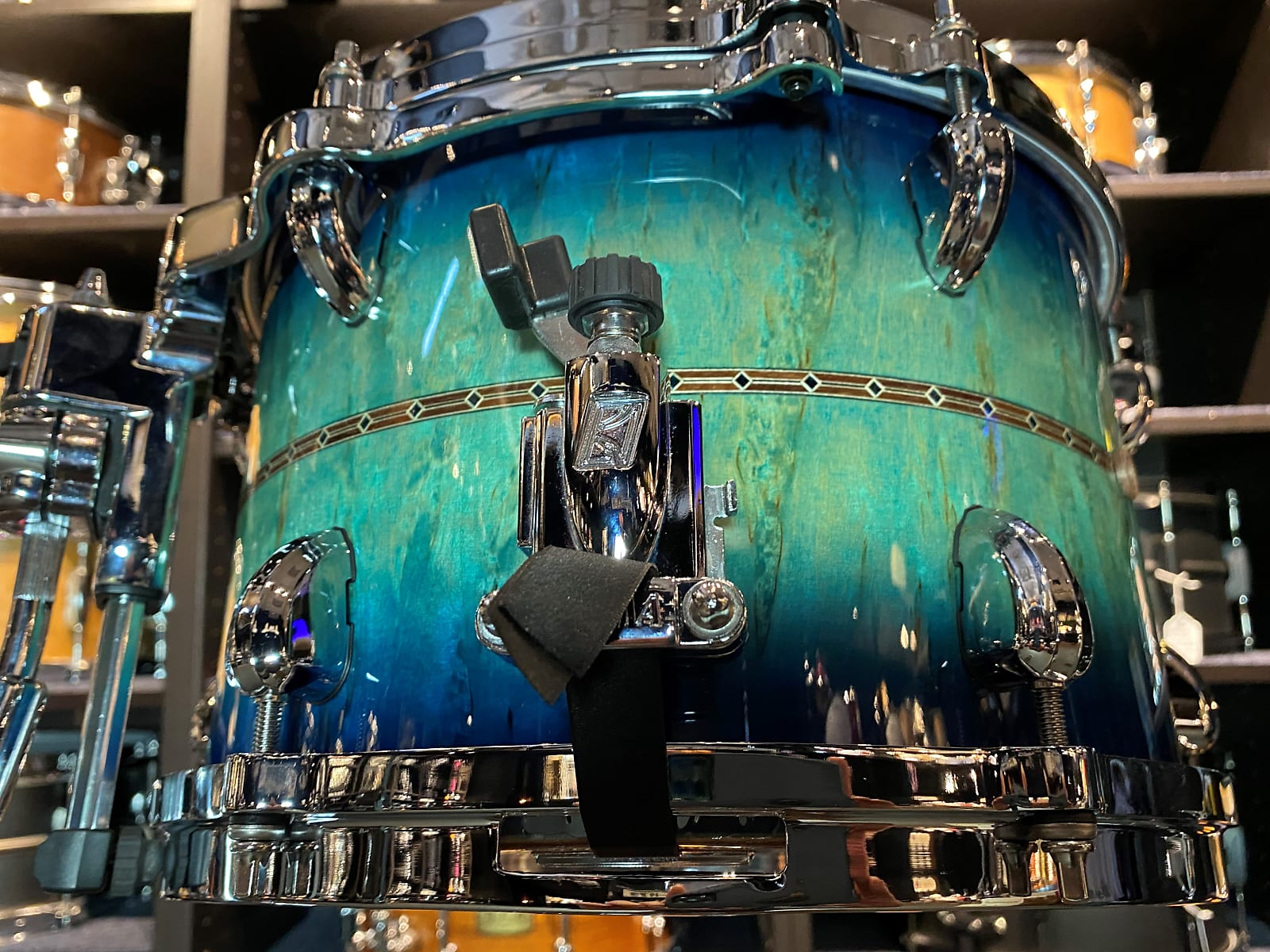 Tama drums sets Star Bubinga custom 8x12 side snare drum