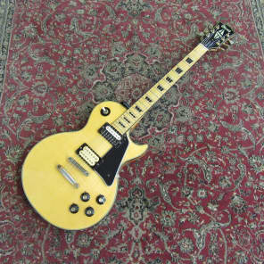 Ibanez 2398 Single Cutaway with Hi-Power Pickups, Maple Fretboard Natural Maple Top with Gold Hardware