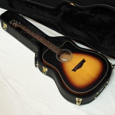 DEAN Saint St. Augustine Dreadnought acoustic electric GUITAR Satin Tobacco Sunburst w/ CASE for sale