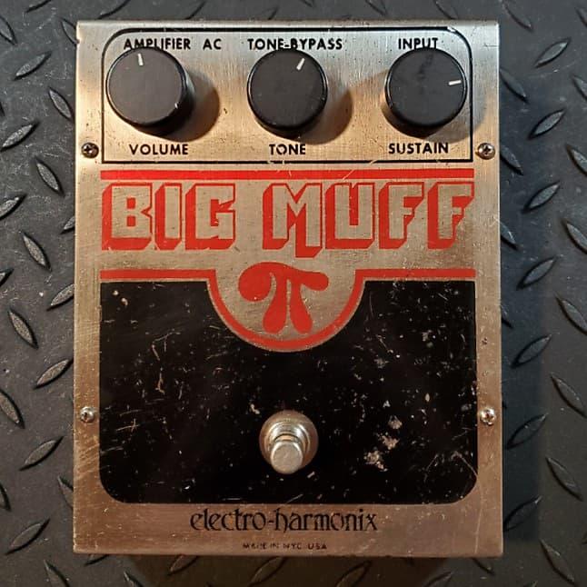 electro harmonix big muff pi fuzz v6 eh3034 1980 free reverb. Black Bedroom Furniture Sets. Home Design Ideas