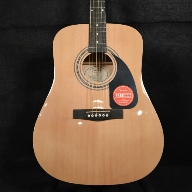 Fender  FA-115 Dreadnought Pack Natural- Open Box image