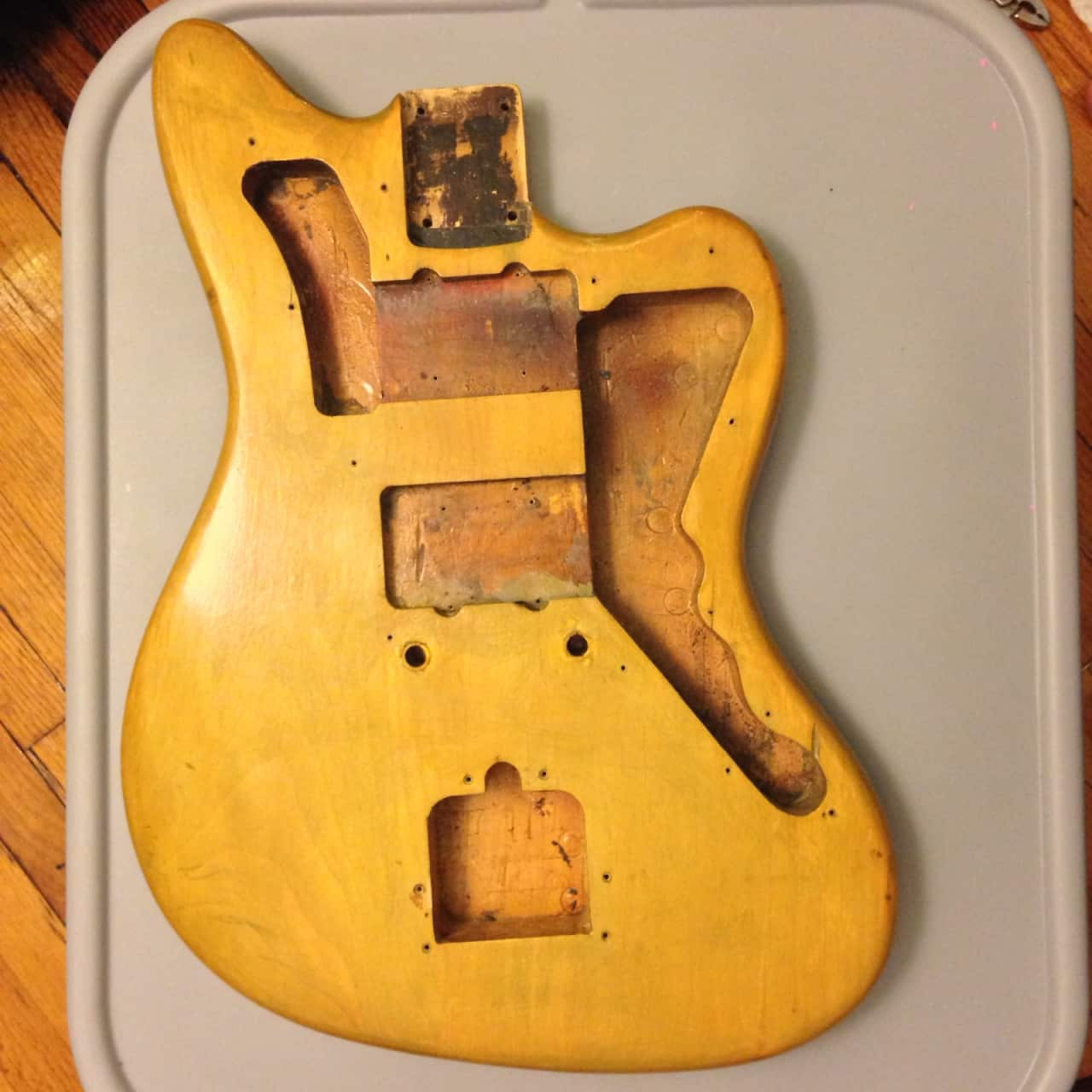 Fender jazzmaster body best fender 2018 for Fender jazzmaster body template