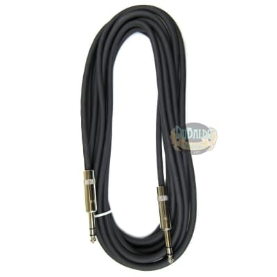 Stereo CBI Cable 20ft, 22awg, Neutrik/Rean Connectors 1/4inch TRS-TRS