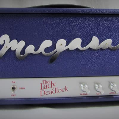 Margasa, The Lady Deadlock, Purple Haze, Boutique Guitar Amp Head, Hand Wired for sale