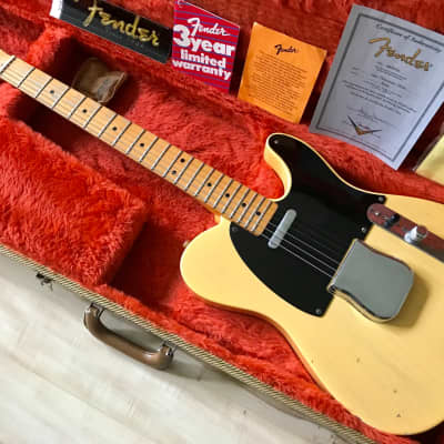 Fender Custom Shop 51 Reissue Nocaster Relic 2003 Butterscotch for sale