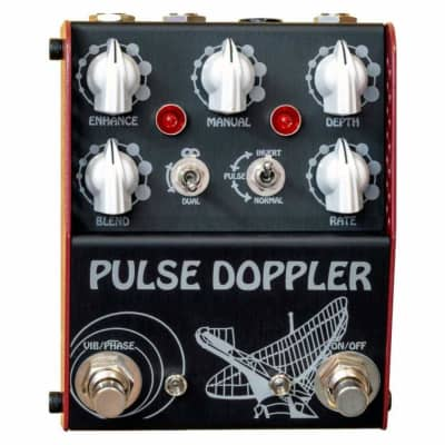 Thorpy FX Pulse Doppler Analog Phaser Effects Pedal