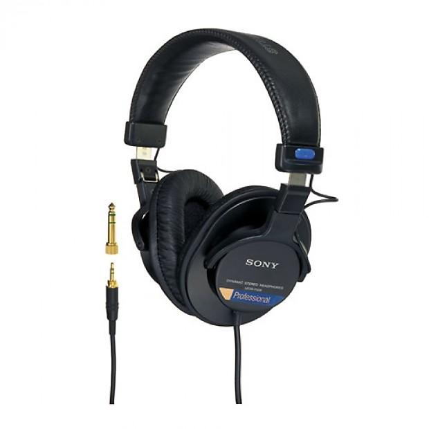 sony mdr 7506 professional studio monitor headphones reverb. Black Bedroom Furniture Sets. Home Design Ideas