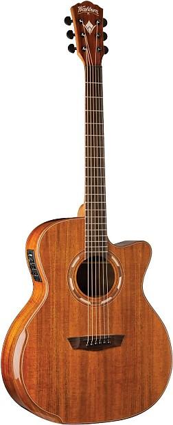 washburn wcg55ce comfort series acoustic electric guitar reverb. Black Bedroom Furniture Sets. Home Design Ideas