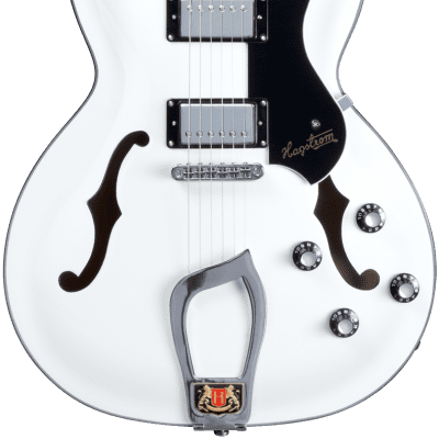 Hagstrom Viking White E-Gitarre