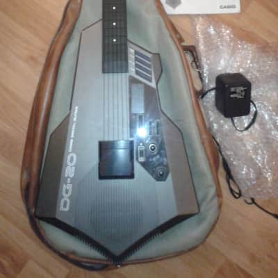 Casio DG20 Digital MIDI Guitar Vintage 80's for sale