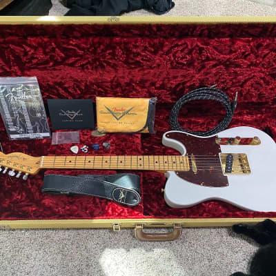Fender Limited Edition Select Light Ash Telecaster White Blonde for sale