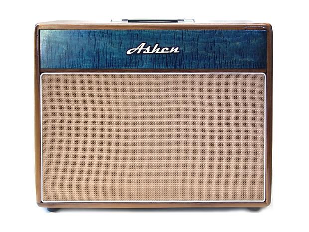 Ashen Royal Blue 212 Guitar Cabinet W Celestion Vin 30