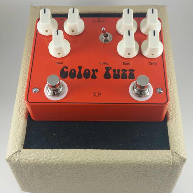 Kirshman Pedals Color Fuzz (colorsound overdriver & germanium fuzz face clones) image